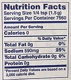 Morton Table Salt, Non Iodized Salt, 25 Pound