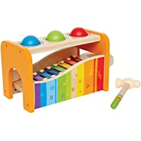 Hape Pound & Tap Bench with Slide Out Xylophone - Award Winning Durable Wooden Musical...