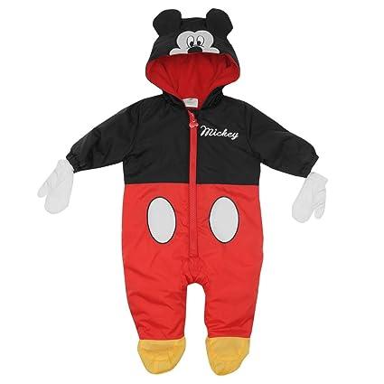 Disney Mickey Mouse Traje para cochecito de bebé y mitones ...