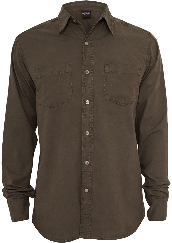 Urban Classics Pigment Dye TB511 Regular Fit Shirt