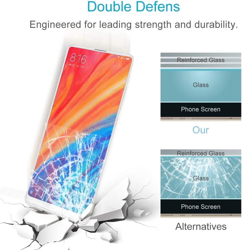 DESHENG Clear Screen Protector 100 PCS for Google Pixel 0.26mm 9H Surface Hardness 2.5D Explosion-Proof Tempered Glass Screen Film Glass Film