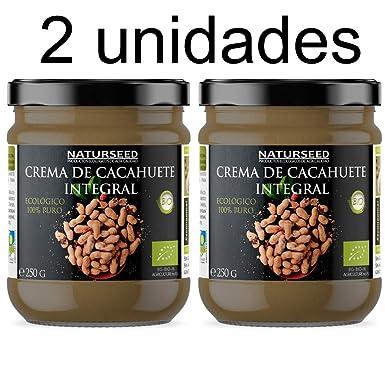 Naturseed - Crema de Cacahuete Organica 100% Natural Ecologica - Sin azúcar, Sin Sal