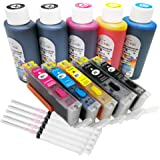 Amazon.com: INKUTEN 4 botellas de tinta comestible de 3.4 fl ...
