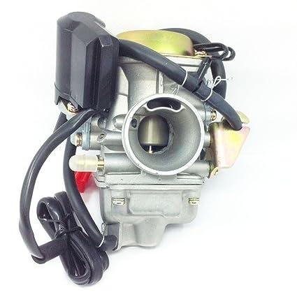 Amazon.com: nd New Carburetor For TrailMaster 150 XRS ... on trailmaster 150 engine, trailmaster 150 carburetor, trailmaster 150 maintenance, 1997 honda accord wiring diagram, honda engine wiring diagram,