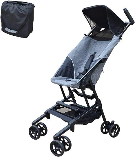 Opinión sobre PAPILIOSHOP MINIMAXI Silla de paseo cochecito para bebé ultra compacto e ligero (Gris)