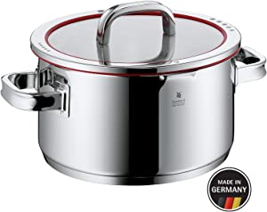 WMF Function 4 Pot - Ø 9.5''/24 cm (approx. 6qt/5.7l) - Lid with 4 functions - Made in Germany