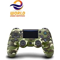 EWORLD® DualShock 4 Wireless Controller For PlayStation 4 (Army Green)