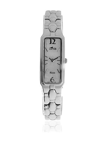 Lotus Reloj analogico para Mujer de Cuarzo con Correa en Acero Inoxidable 15281/2: Amazon.es: Relojes