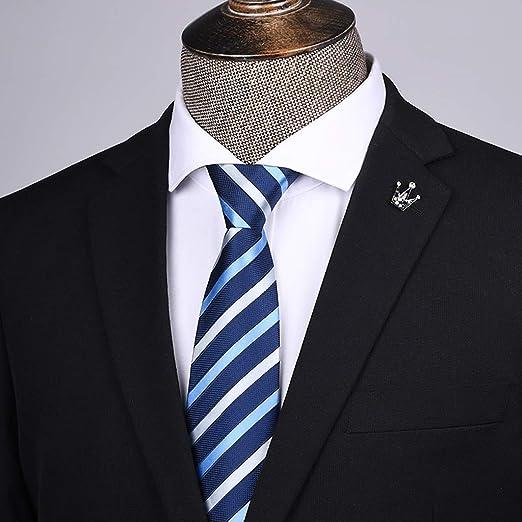 BJ-tie Corbata de Hombre Ropa Formal Negocio Cremallera Corbata 8 ...