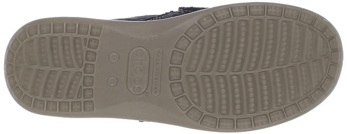 crocs Santa Cruz Men 10128 Santa Cruz - Mocasines de lona para hombre, color negro, talla 44/45, Negro (Black/Khaki 62), 44/45: Amazon.es: Zapatos y ...
