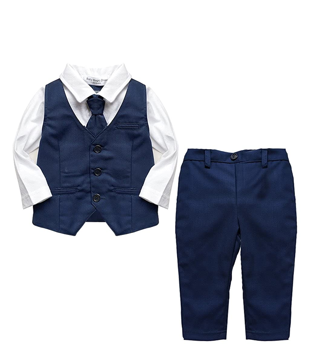 Page Boy Wedding Christening 2pc Suit with Cravat