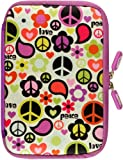 NeoSkin Kindle Fire HDX Zip Sleeve, Peace Out (fits Kindle Fire HDX, Kindle Fire, and Kindle Keyboard)
