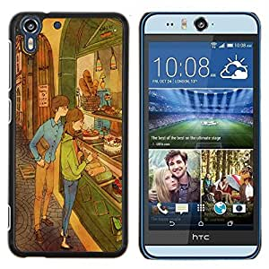 Dragon Case - FOR HTC Desire EYE M910x - like nothing happened - Caja protectora de pl??stico duro de la cubierta Dise?¡Ào Slim Fit
