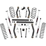 "Rough Country 907S 4"" Suspension Lift Kit for Jeep Wrangler"