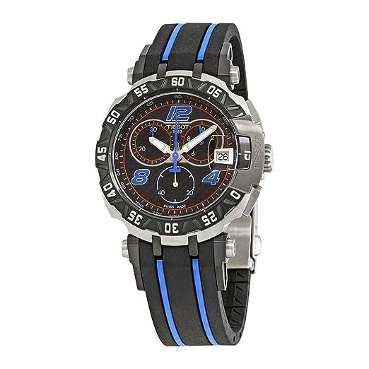 Tissot T-Race T092.417.27.207.01 - Reloj cronógrafo para hombre: Amazon.es: Relojes