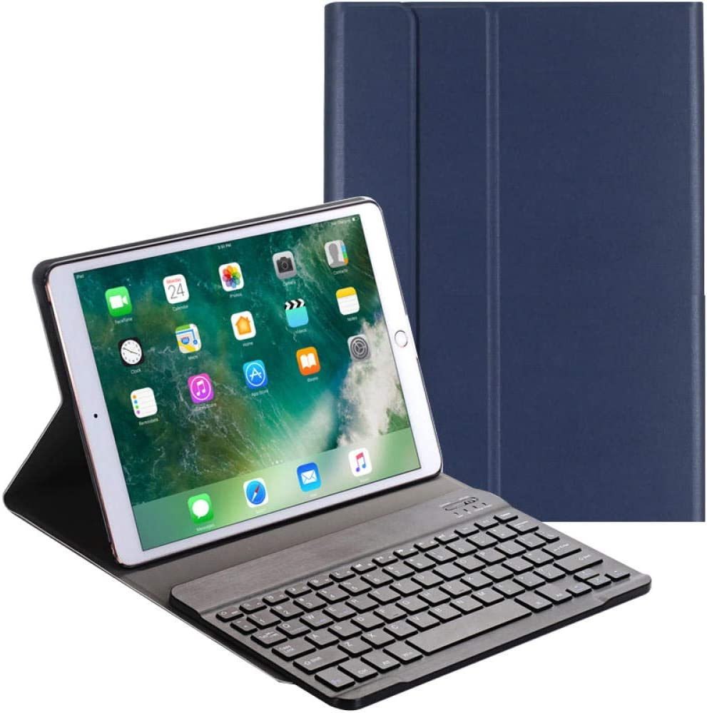Bluetooth Keyboard for Tablet Mini Bluetooth Keyboard Tablet PC 10.5 inch Bluetooth Keyboard case 9.7 inch Leather case Black 2018//2017 9.7 inch