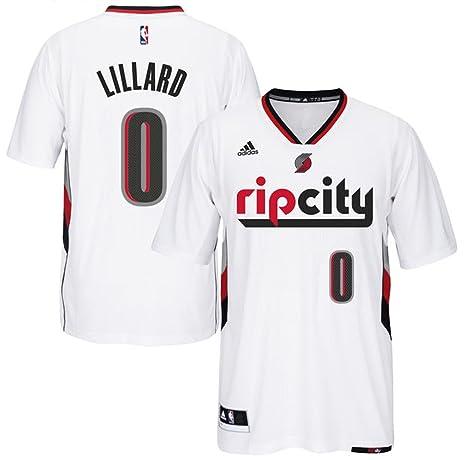 Amazon.com   Damian Lillard Portland Trail Blazers  0 NBA Youth New  Swingman Short Sleeve Pride Jersey (Youth Small 8)   Sports   Outdoors 7ac837e54