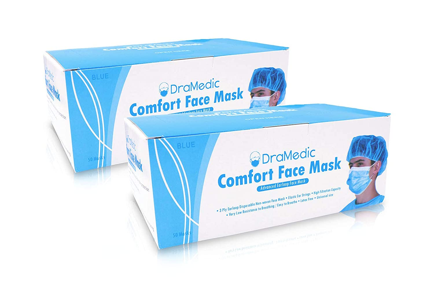 Dramedic Surgical Disposable Face Mask-dental Medical Earloop
