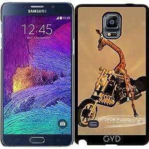 Funda para Samsung Galaxy Note 4 (N910) - Jirafa Divertida by nicky2342