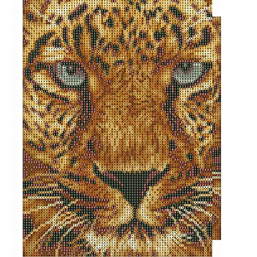 Tiger Rhinestone Pictures of Crystals Diamond Dotz Kits Arts Adarl 5D Diamond Painting Full Drill DIY Crafts /& Sewing Cross Stitch for Home Decor