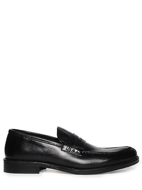 Penny Mocasines para hombre Benetton, color negro, talla 45: Amazon.es: Zapatos y complementos