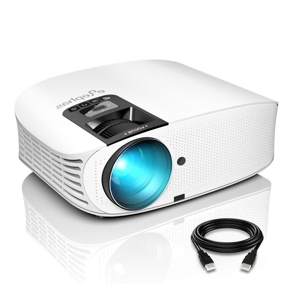 Proyector , ELEPHAS 1080P LCD Video proyector, Cine en casa con ...