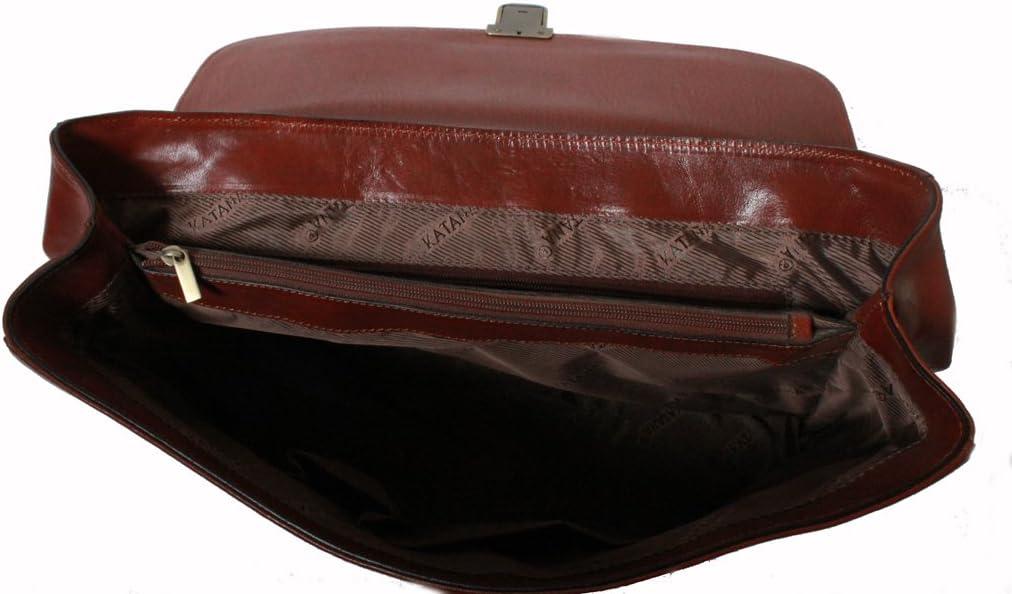 Cartable Katana en Cuir de Vachette Collet K 82614