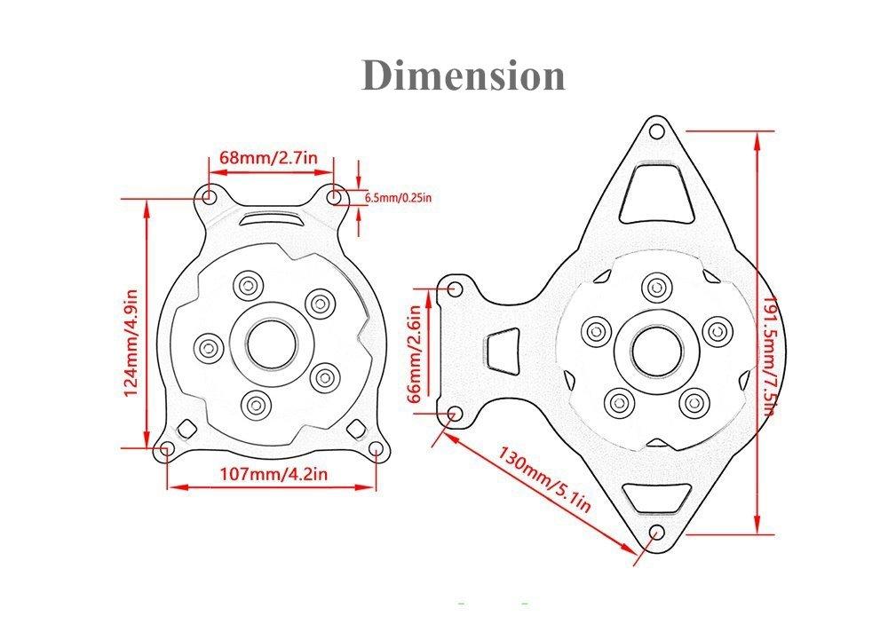 BLACK YUANQIAN 4350342353 Motorcycle Radiator Grille Guard Protector for Kawasaki Z750 2007-2012 Z800 Z800e 2013-2017 Z1000// Z1000SX 2010-2018 ABS 2013-2017 Z1000 SX 2010-2018 Ninja 1000 2010-2018 Versys 1000 2007-2018