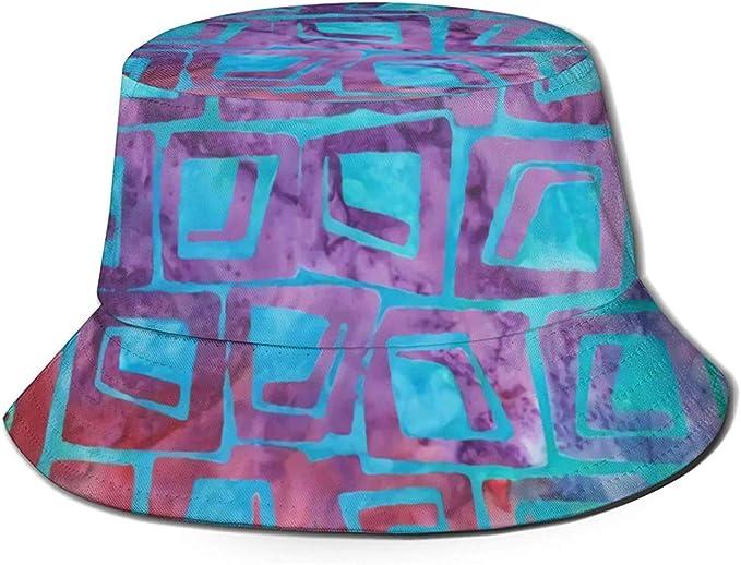 BONRI Cappello da Pescatore da Viaggio con Stampa di ...
