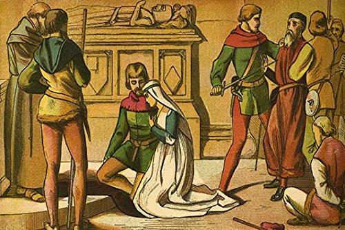 Robin Buyenlarge Hood (Buyenlarge Robin Hood & Maid Marian Beside a Saint's Tomb - Gallery Wrapped 24