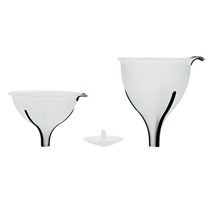Oxo Good Grips 3 Piece Secure Fit Funnel And Strainer Set by Oxo