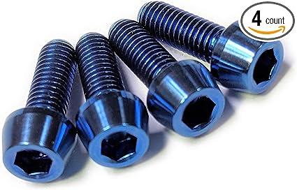 Details about  /BUCKLOS 2//4PCS Silver//Rainbow Water Bottle Cage Screws M5 Bike Bottle Cages Bolt