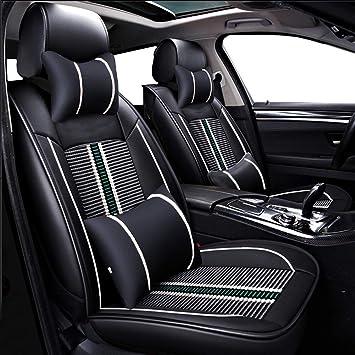 Black S tech automotive Waterproof Van Seat Covers