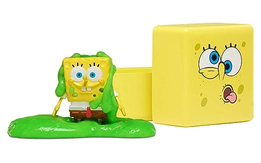 SpongeBob Squarepants | Slimeez Blind Cube | Collectable 2 Inch Figure | 2  Ounces of Nickelodeon Slime