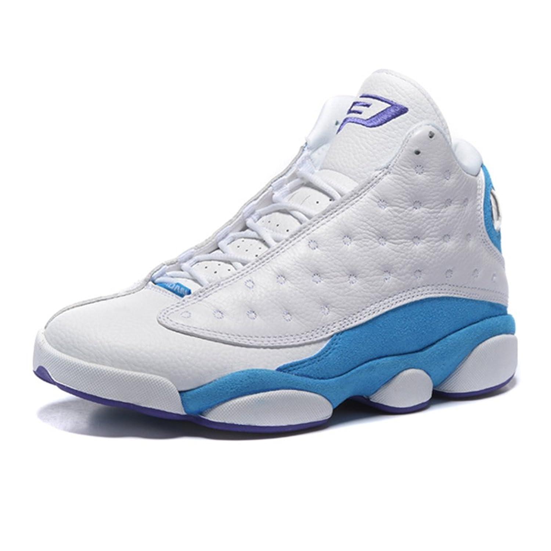 a63900976f4c outlet J Du Plessis Men s Running Shoe AJ13 Paul White And Blue PE Air  Jordan 13