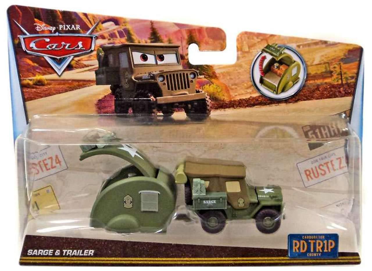 Disney//Pixar Cars Sarge with Cannon Die-cast Vehicle