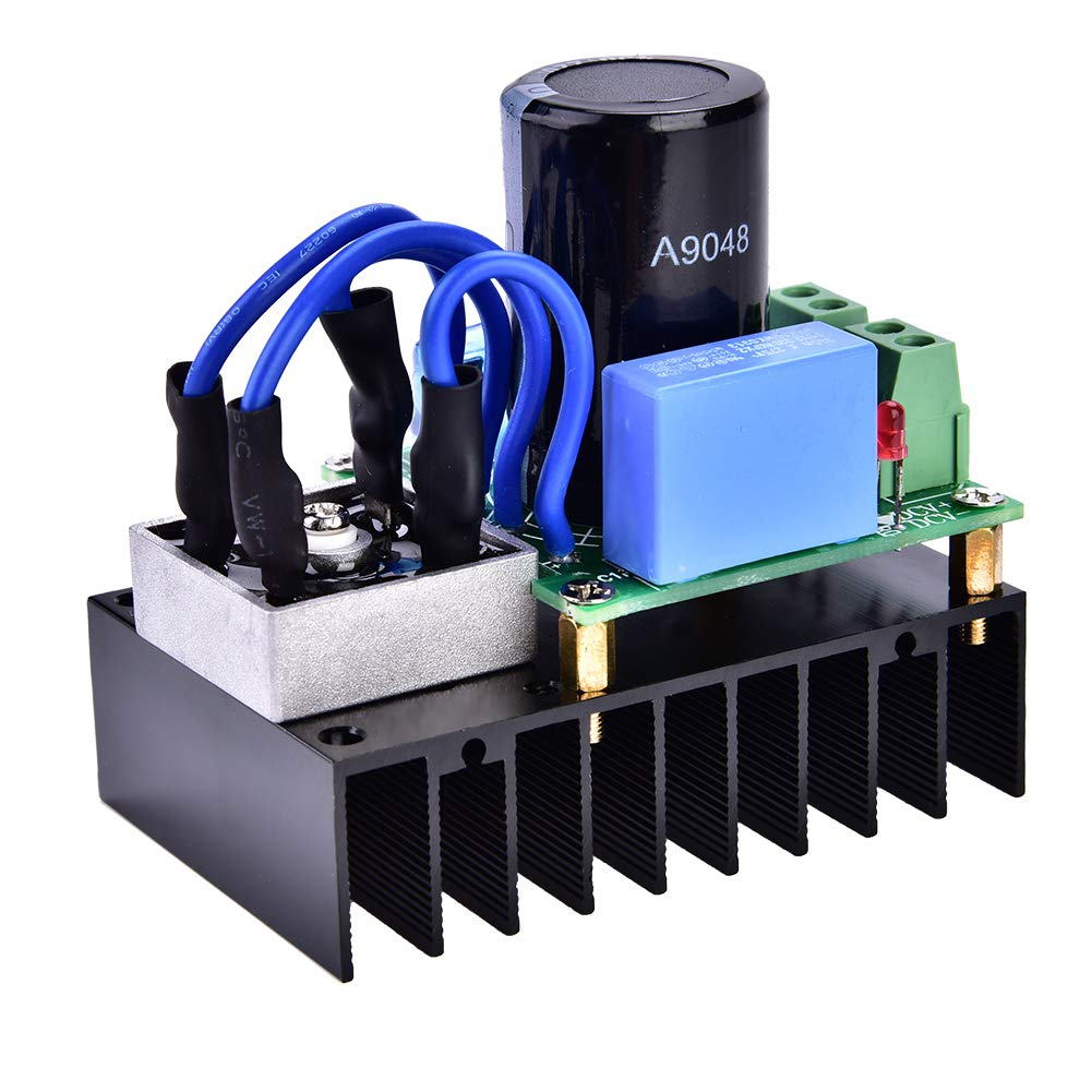 elektrische Ausr/üstung 0-220 VAC bis 0-311 VDC Universal-Gleichrichterplatinenmodul mit Mehrfachschutz Gleichrichterplatine