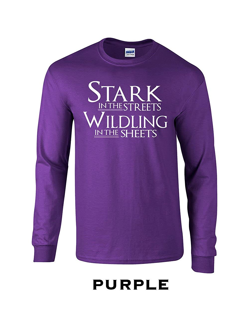 593 Stark in The Streets Adult Long Sleeve T Shirt