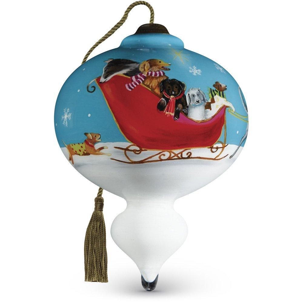 "Ne'Qwa Art, Christmas Gifts, ""Sled Dogs"""