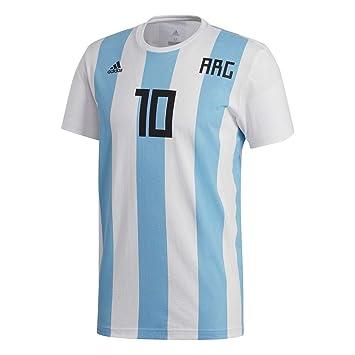 Camiseta Messi Argentina 2017-2018 White Talla S