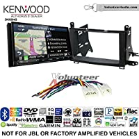 Volunteer Audio Kenwood Excelon DNX994S Double Din Radio Install Kit with GPS Navigation Apple CarPlay Android Auto Fits 2009-2015 Non Amplified Toyota Venza