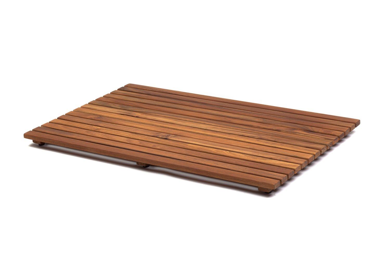 AsinoX TEK4A50100 - Tarima de ducha y baño, madera de teca ...