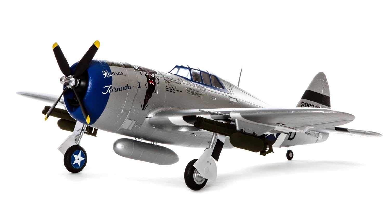 E-flite P-47 Razorback 1.2m BNF Basic with AS3X