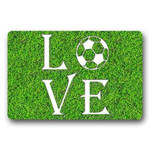 Norma Lily Felpudo para Entrada de Futbolín con Texto en Inglés ...