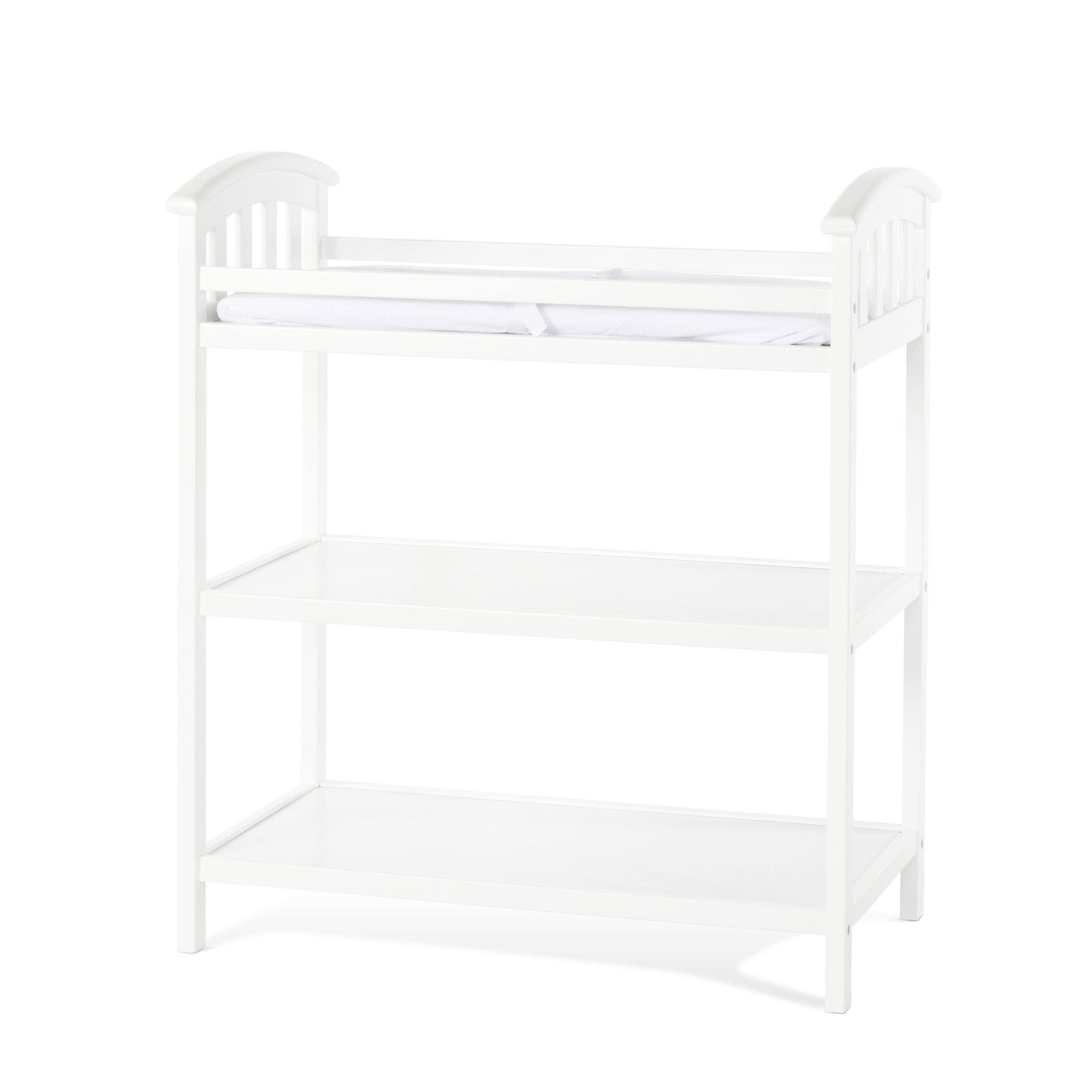 Child Craft Delaney Changing Table with Pad, Matte White
