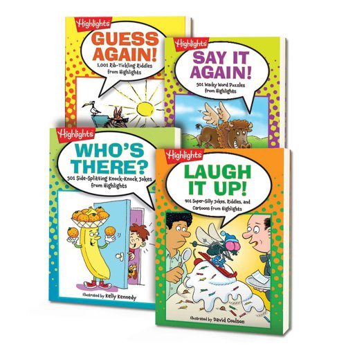 Highlights Joke Books Set of 4 - Highlights Set
