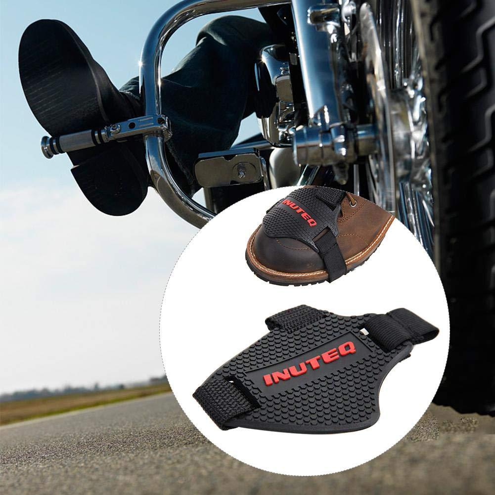 Anti-Abrasion Couvre Protecteurs de Chaussure Bottes pour Levier de Vitesses Moto 1 Pair Prot/ège Chaussures Moto Ai CAR FUN Protection Chaussure Moto