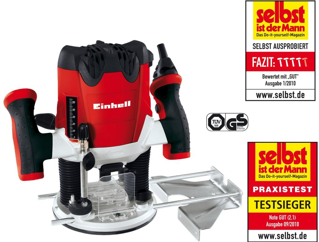 oberfr se einhell rt ro 55 mit bosch fr ser set 15 teilig. Black Bedroom Furniture Sets. Home Design Ideas