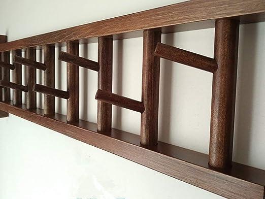ZLL Colgadores de pared para el hogar, ropa de madera Tienda ...