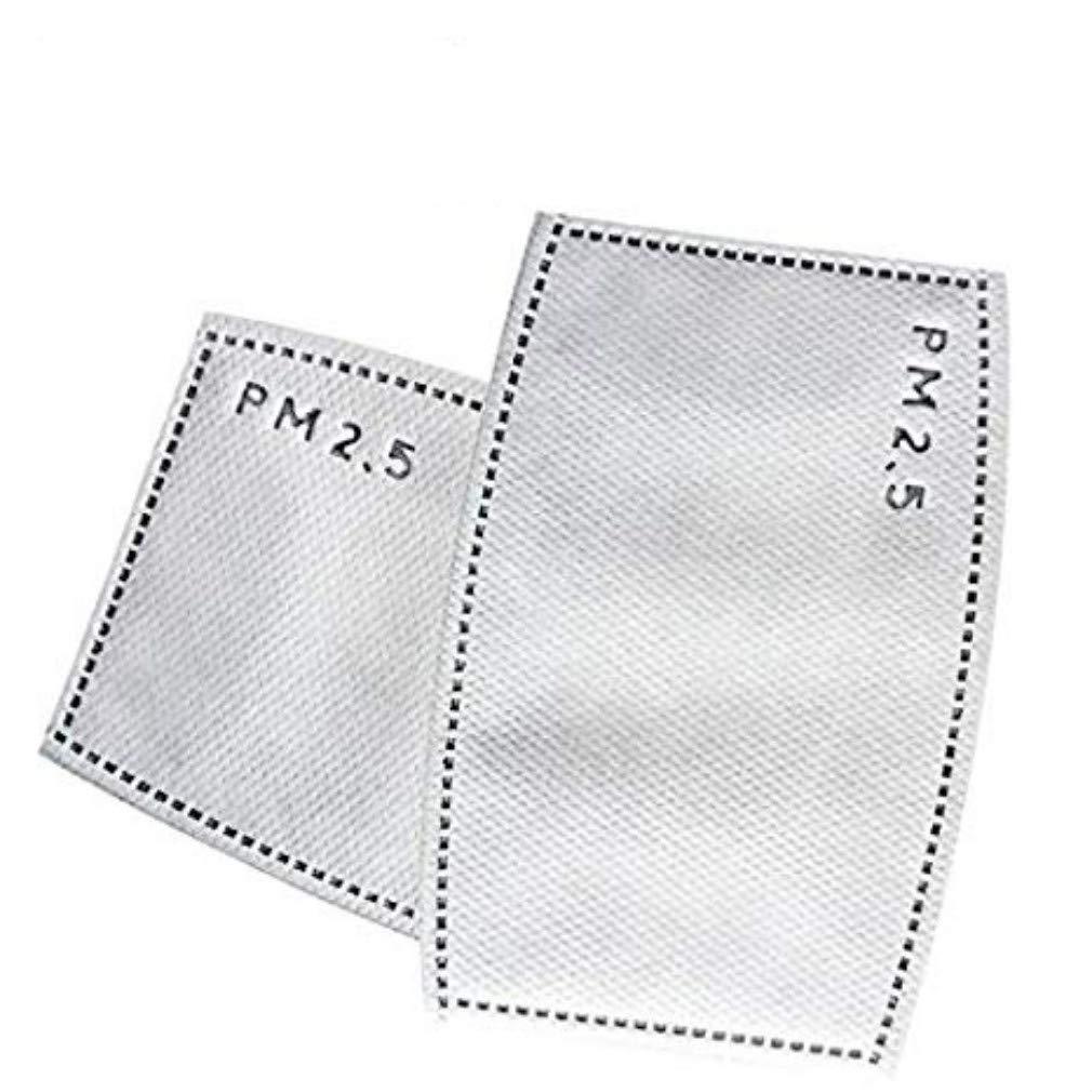 3 Stü ck PM2.5 Adult Cotton Mundmaske Staubdicht Gesichtsmaske mit Filter iHomey